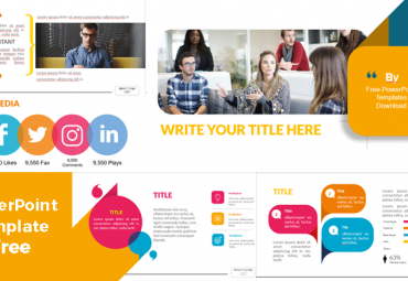 Screenshoot Design powerpoint templates