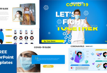 Against COVID-19 powerpoint templates