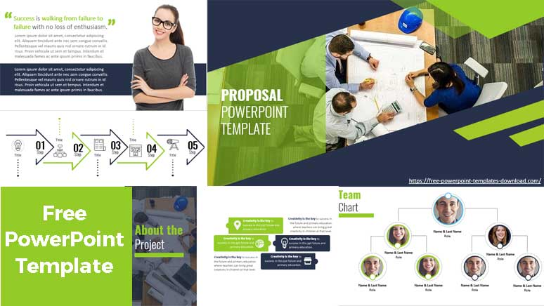 Preview proposal PowerPoint Template
