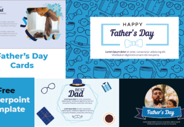 Free Father's Day Cards in powerPoint