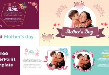 Cards mothers day powerpoint templates