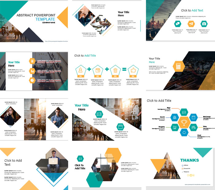 Free powerpoint templates abstract screenshots