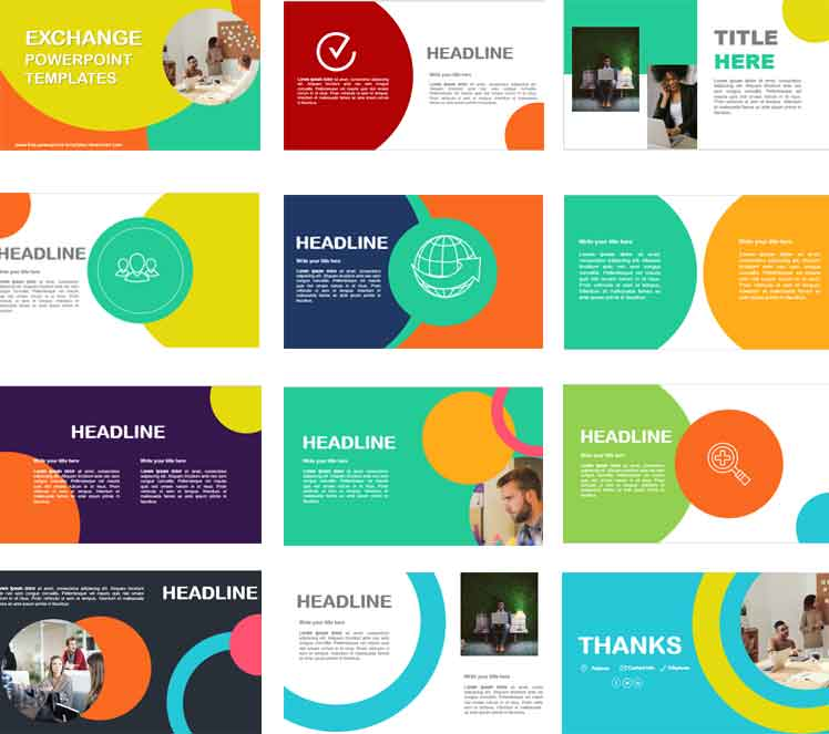 Screenshoot growth powerpoint templates