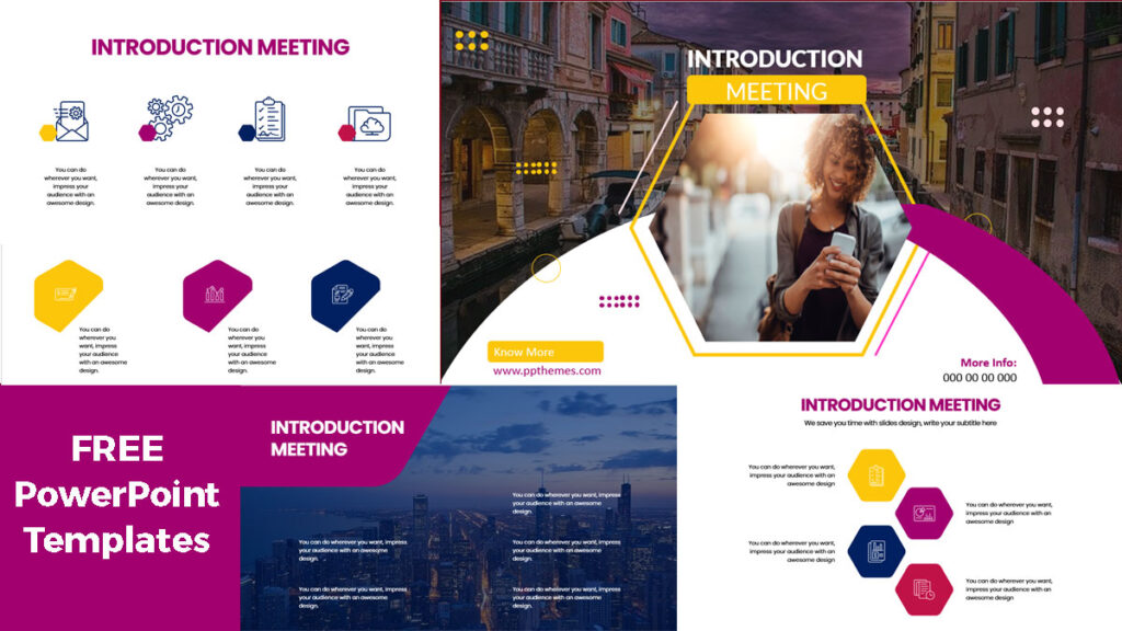 introduction meeting powerpoint templates free download