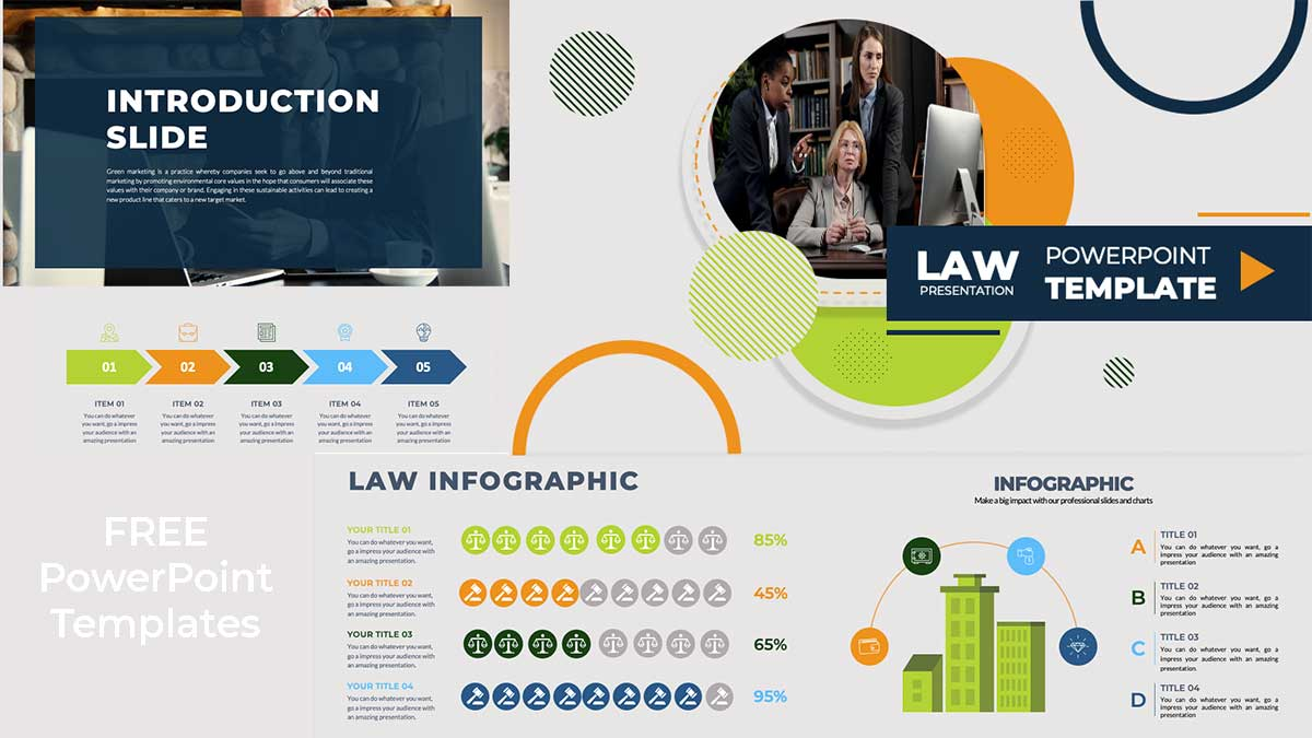 Law presentation powerpoint templates ppthemes