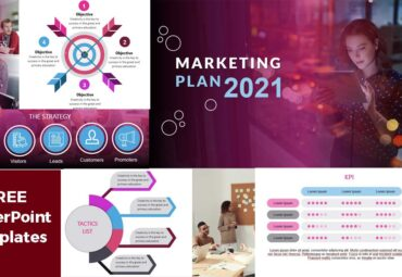 Marketing Plan 2021 powerPoint Templates Free