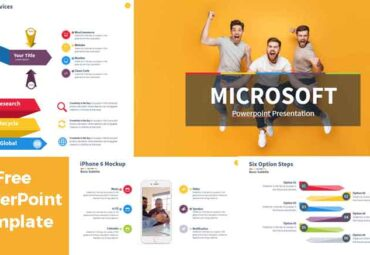 Microsoft PowerPoint Template presentation