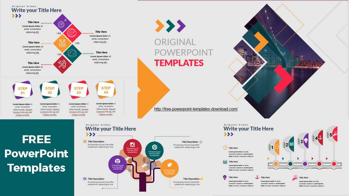 Original PowerPoint Templates download free