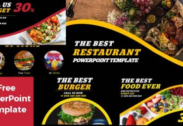 Preview restaurant Free PowerPoint Templates