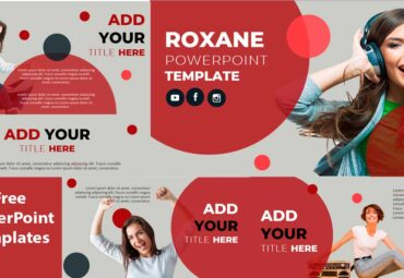 Preview Roxane presentation powerPoint Templates