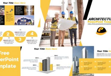 Screenshoot PowerPoint Templates Abour architectura