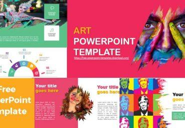 screenshoot art powerpoint template