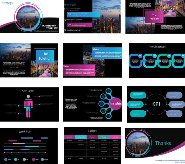 business-strategy-powerpoint-templates preview