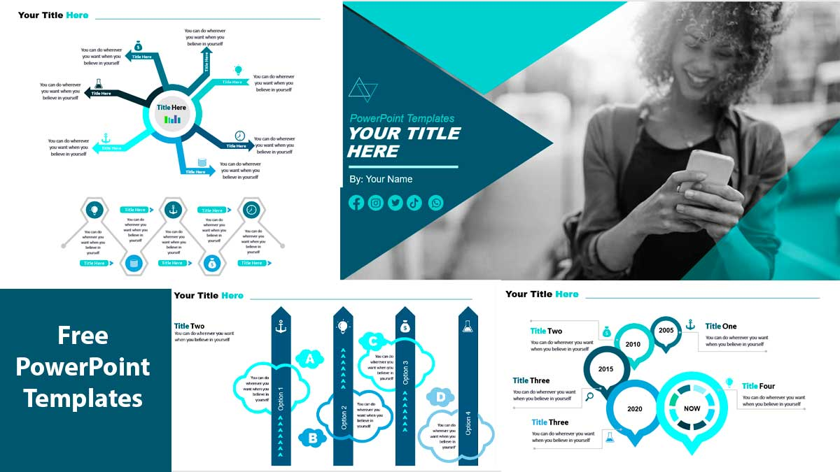Preview Calderas PowerPoint Templates for Businesss