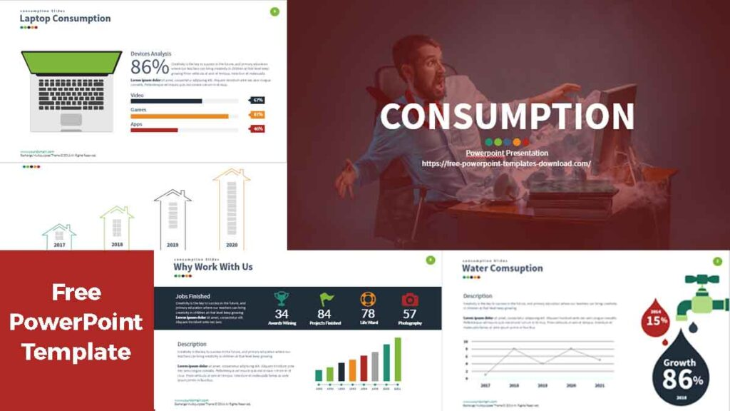 Consumption Free PowerPoint Templates