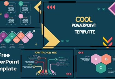 Cool abstract powerpoint template
