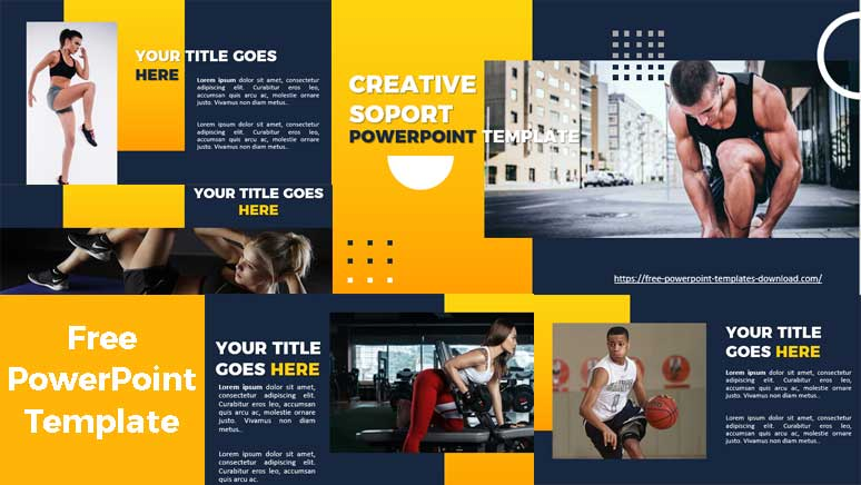 Preview Creative Sport Slides for PowerPoint Presentation