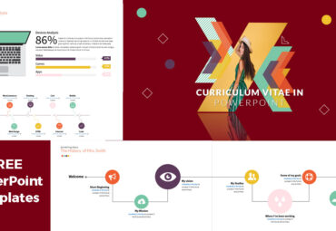 Curriculum Vitae in a PowerPoint Template