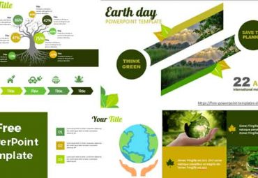Screenshot earth day powerpoint templates