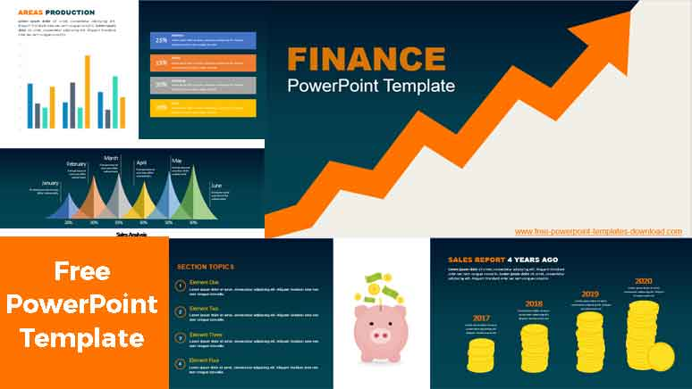 Free Finance PowerPoint Templates
