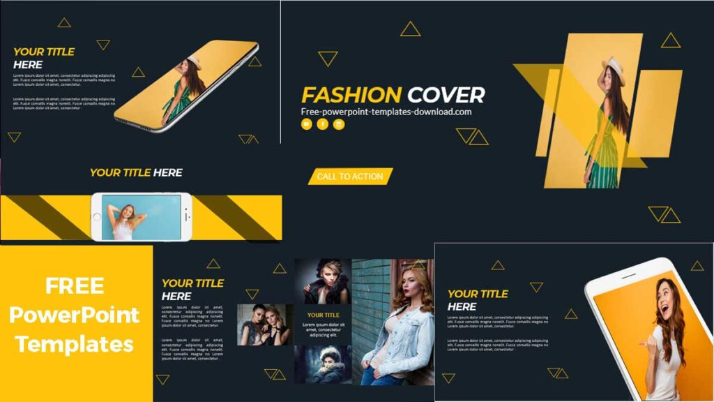 Preview Fashion Presentation in PowerPoint Templates
