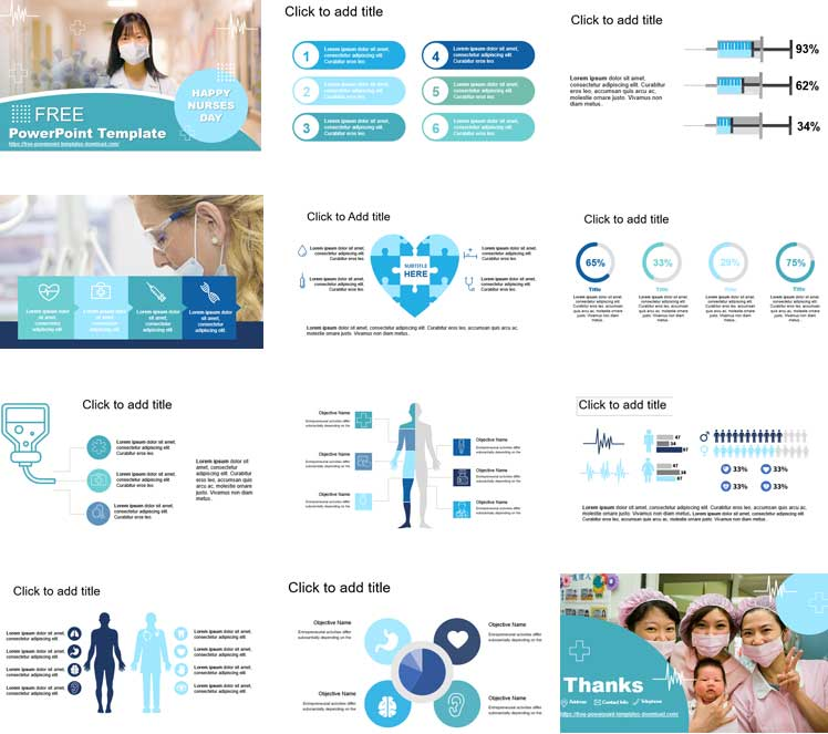 Preview powerpoint templates for nurse day