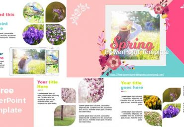 preview spring powerpoin templates