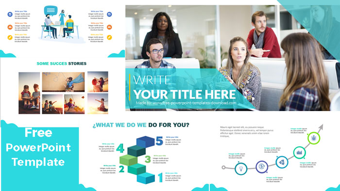 free simple powerpoint templates to download