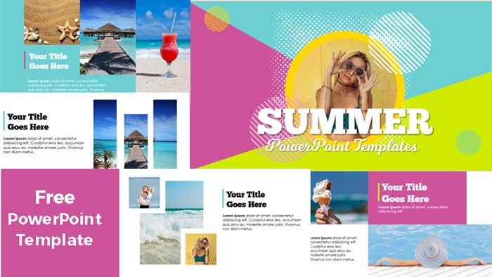 free sumer powerpoint templates
