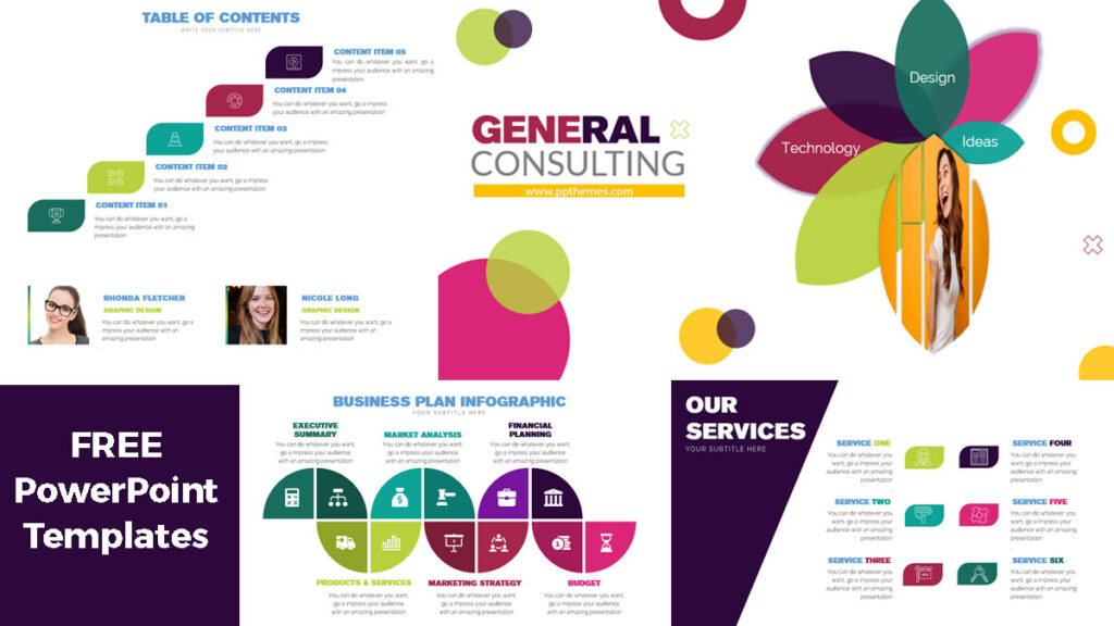 General consulting powerpoint presentation