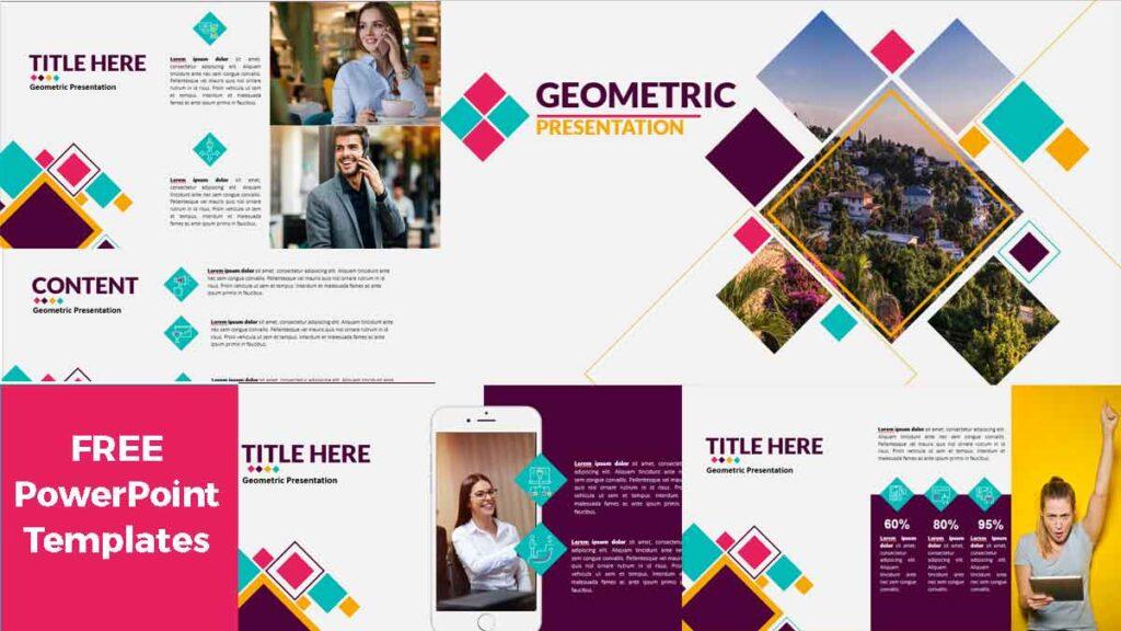 Geometric Free PowerPoint Templates