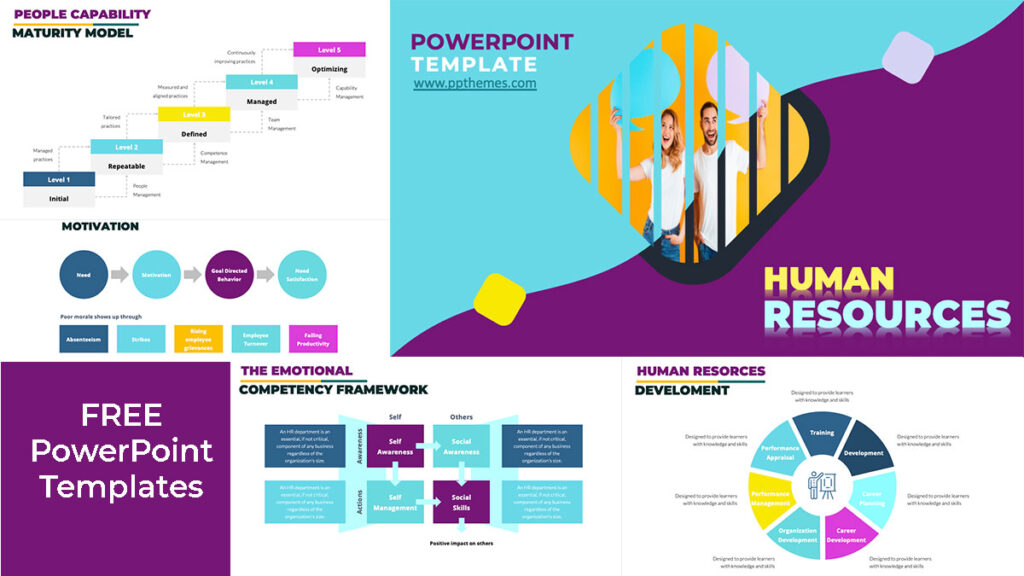 human resources infographics powerpoint presentation