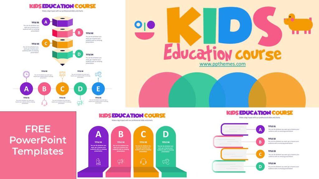 kids Education PowerPoint Templates