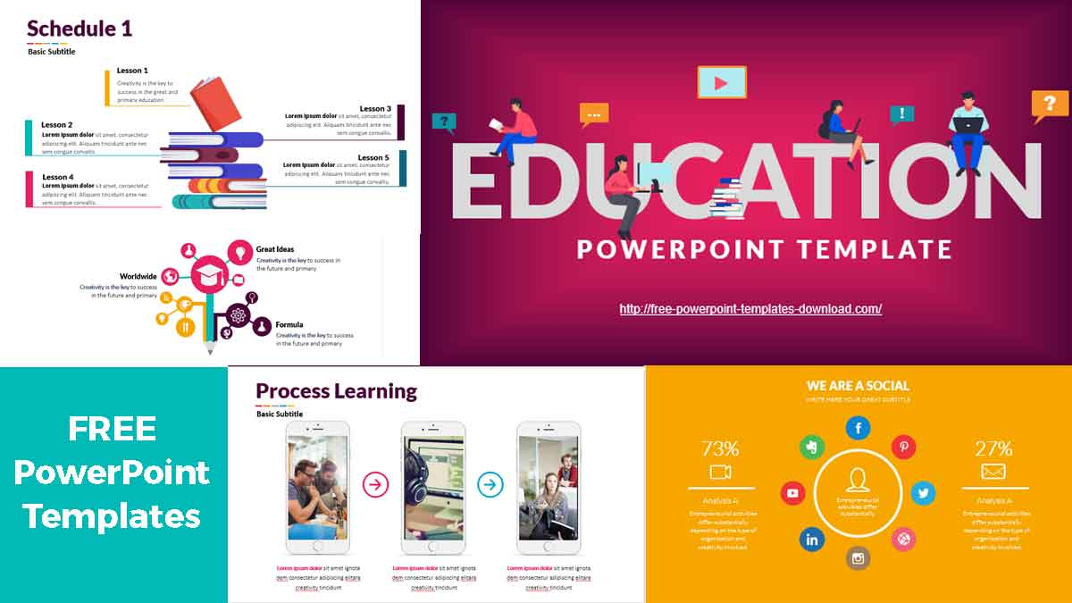 Lesson Free PowerPoint Templates