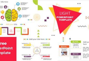 light powerpoint template