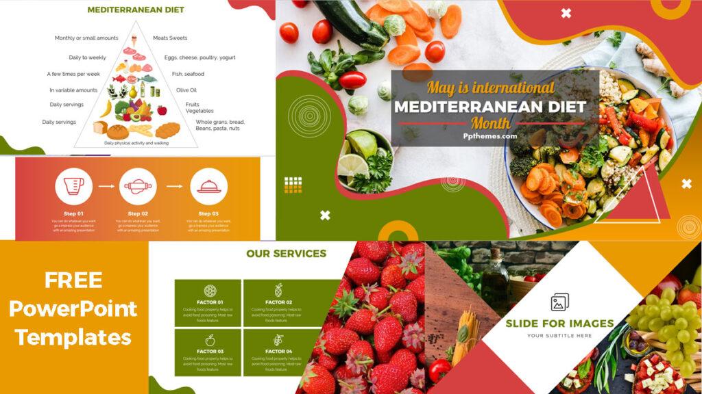 Mediterranean Diet PowerPoint Templates