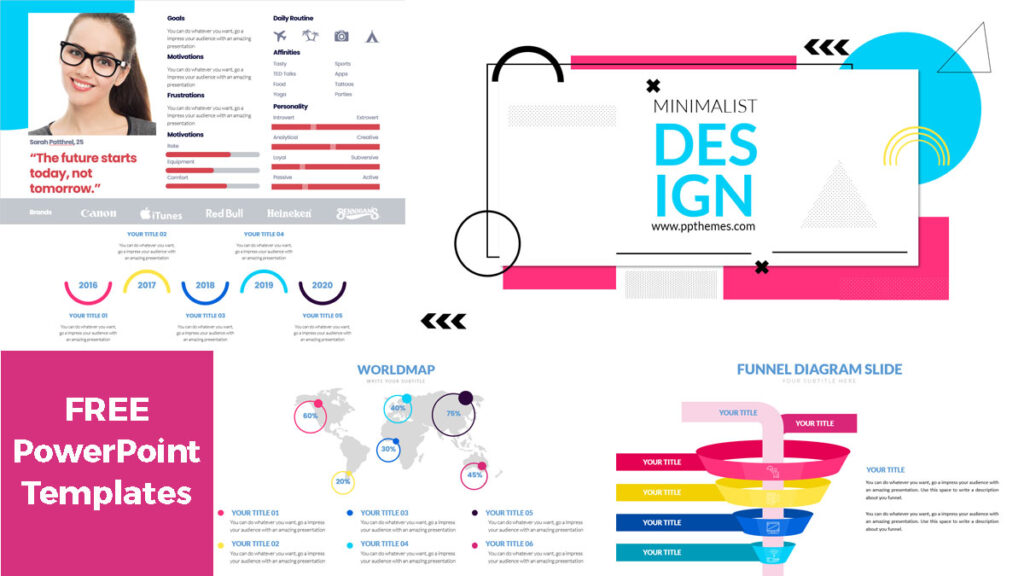 Minimalist PowerPoint Infographics