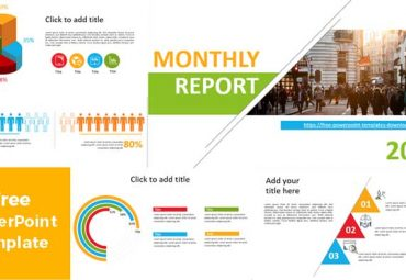 montjly report powerpoint templates