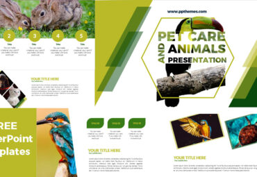 Pet Care and animals presentations in powerpoint templates