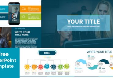 Blue powerpoint templates for business