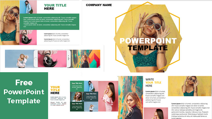 preview Fashion PowerPoint Templates