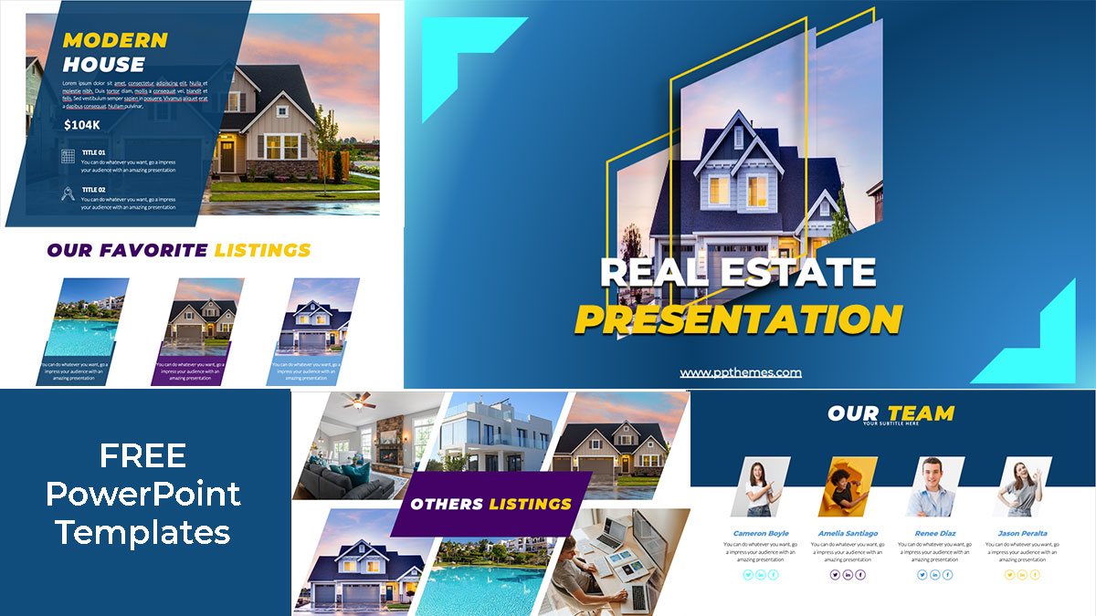Preview real state powerpoint presentation