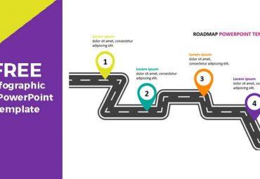 roadmapp infographic fo PowerPoint Templates