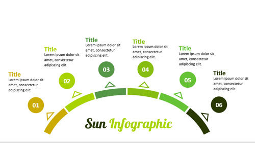 sun-infographic-for-powerpoint-template-6-steps