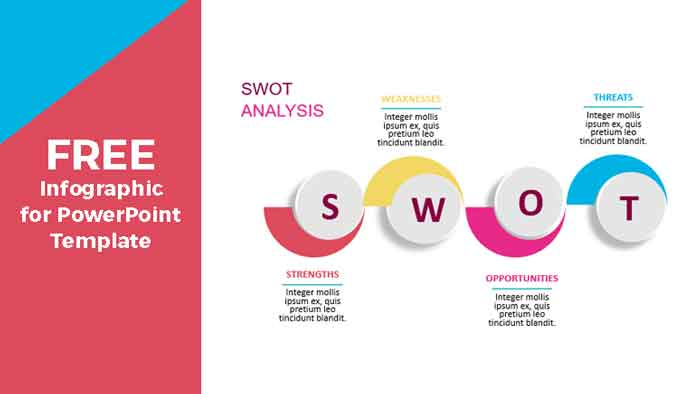 swot analysis infographics for powerpoint templates
