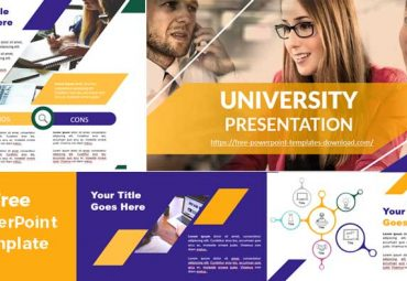 University presentation PowerPoint Template