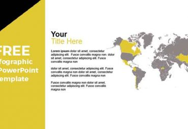 preview worldmap infographics for powerpoint templates